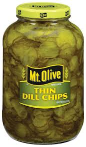 Mt. Olive Dill Pickle Chips